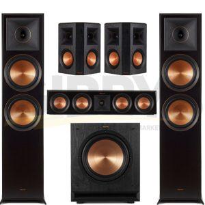 Klipsch RP-8000FB Reference Premiere 5.1 Speaker Bundle #12