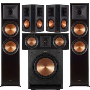 Klipsch RP-8000FB Reference Premiere 5.1 Speaker Bundle #8