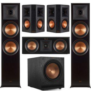 Klipsch RP-8000FB Reference Premiere 5.1 Speaker Bundle #9