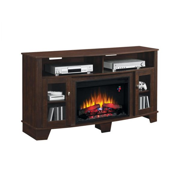 Bello LASALEMATL TV Stand Fireplace Console