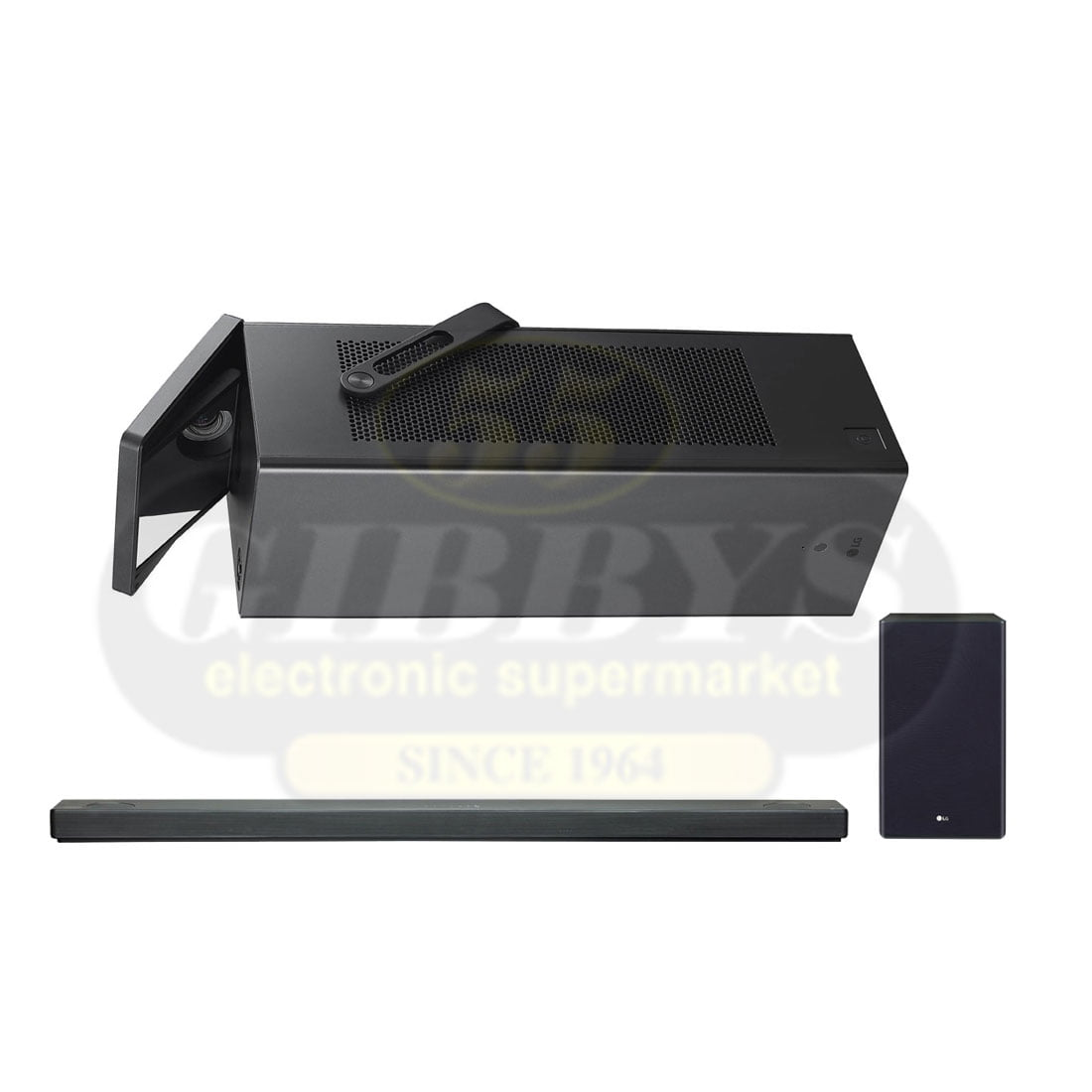 LG HU80KA 4K UHD Laser CineBeam Projector | SL10YG Soundbar