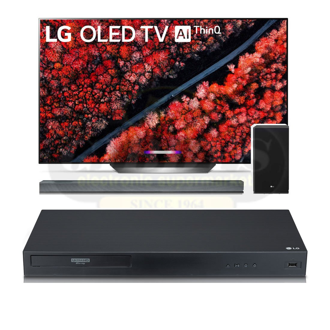 "LG OLED77C9 77"" HDR 4K UHD OLED Smart TV 