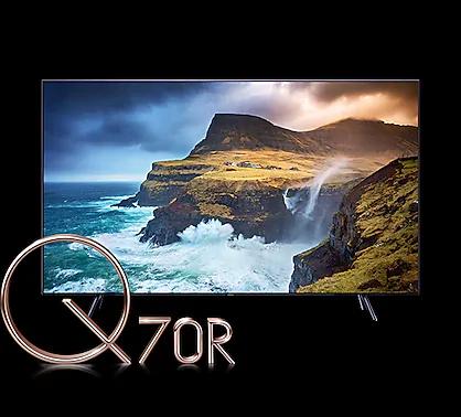 Q70R - Black Background