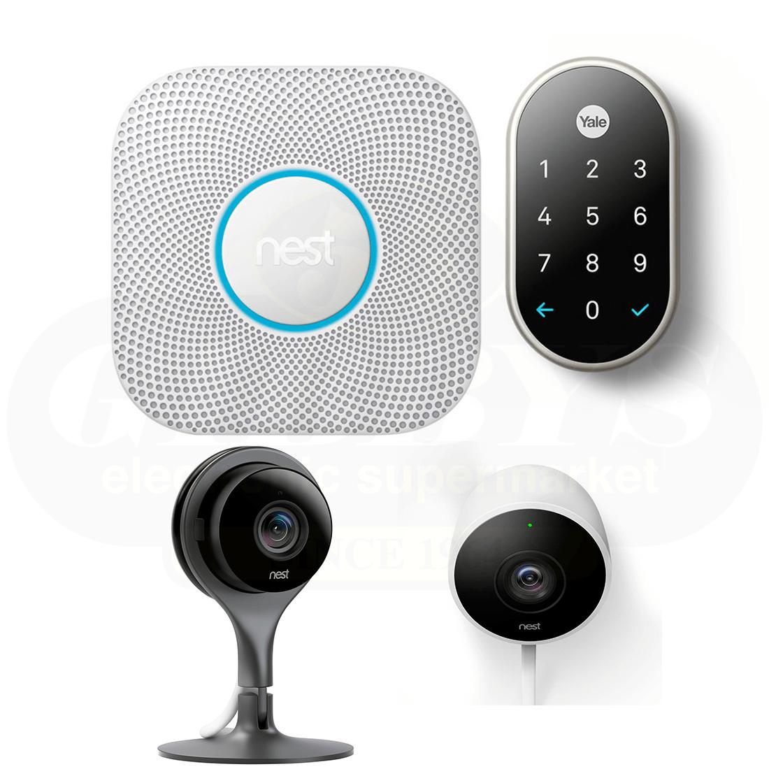 Nest Smart Home Security Automation Bundle # 4