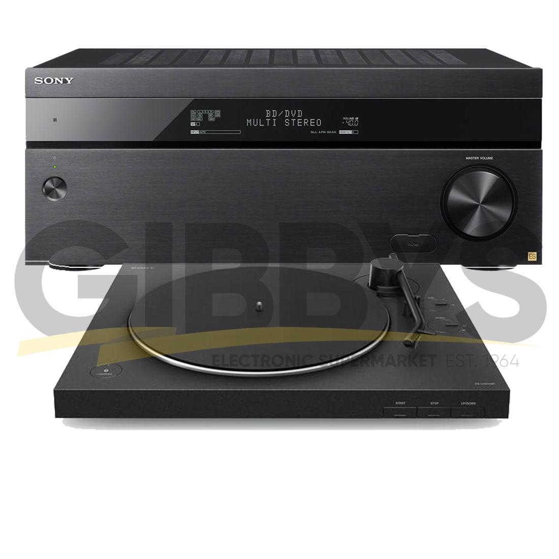 Sony STR-ZA5000ES 9 2 AV Receiver | Sony PS-LX310BT USB Bluetooth Stereo  Turntable