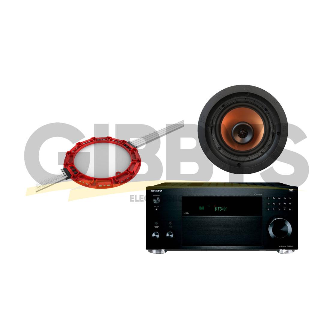 Onkyo TX-RZ820 B-Stock 7 2 Receiver | Klipsch CDT-5650-CII 6 5