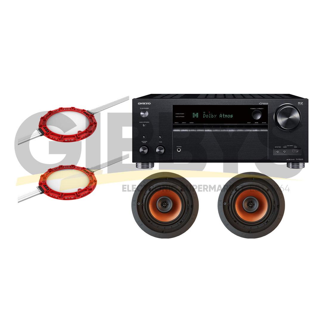 Onkyo TXRZ820 B-Stock 7 2 Receiver | Klipsch CDT-3650-CII 6 5