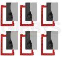 """Klipsch DS-160W Designer Series 6.5"""" In-Wall Speaker x6 with Installation Bracket x6"""