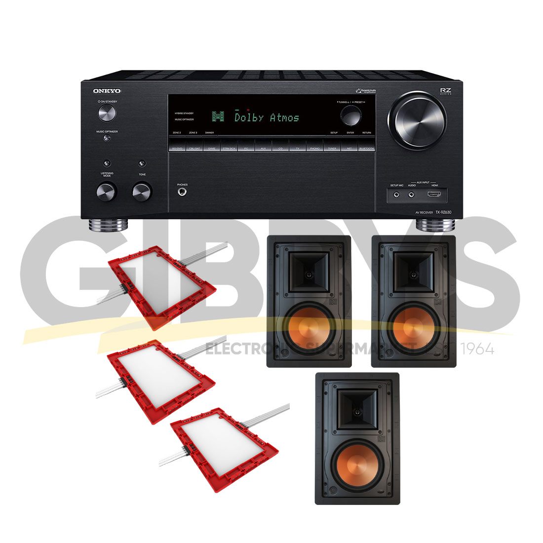 Onkyo TX-NR686 B-Stock 7 2 Receiver | Klipsch R-5650-WII 6 5