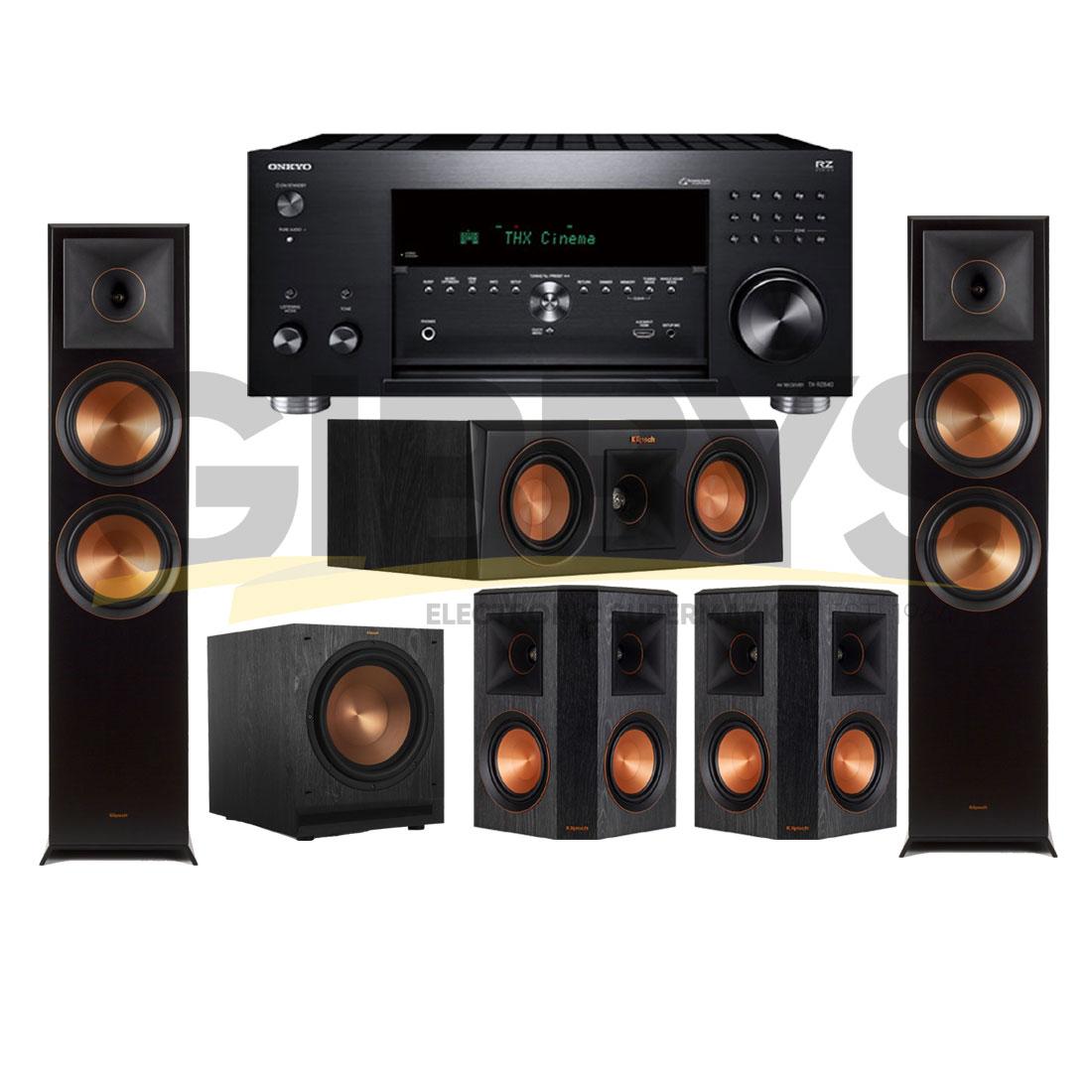 Onkyo TXRZ840   Klipsch RP-6000FB Reference Premiere 5 1 Speaker Bundle #14