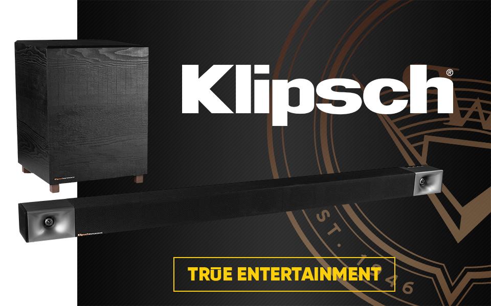Klipsch homepage