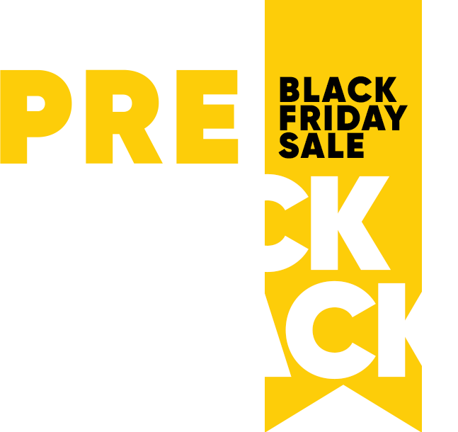 Pre Black is back logo