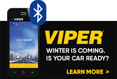 Viper car starter promo homepage mobile