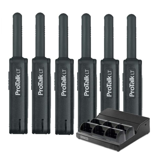 Kenwood PKT-23LFP Side 6 Pack and Charger