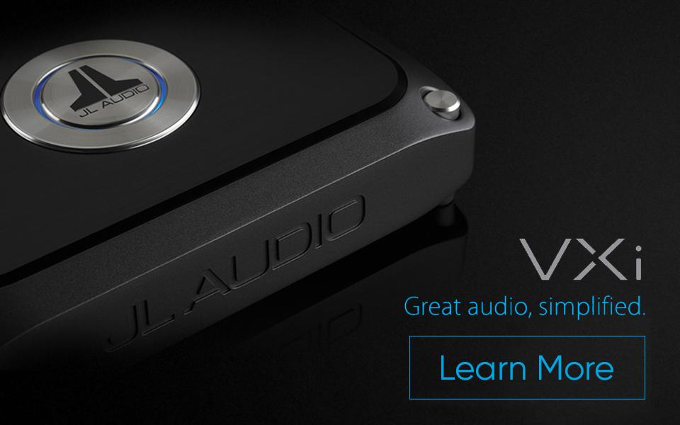 JL Audio VXI Promo Homepage