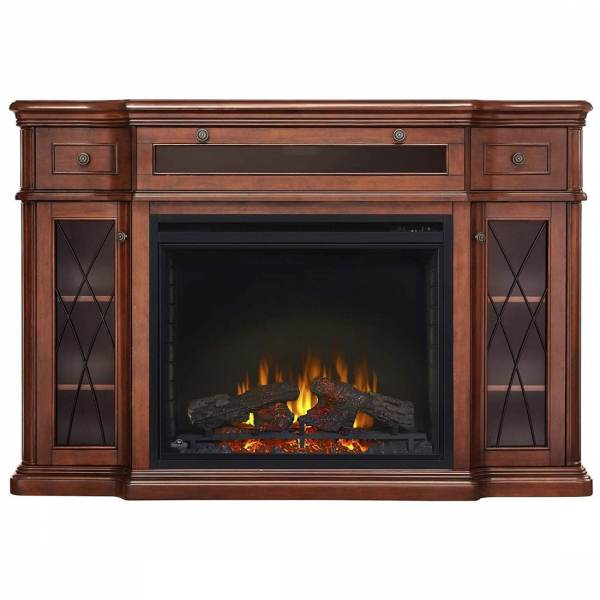 Napoleon NEFP33-0614AM The Colbert Electric Fireplace Mantel Package