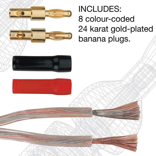 UltraLink Caliber 16AWG Premium Speaker Wire Info