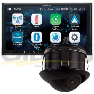 "Alpine ILX-W650 7"" Mechless Receiver 