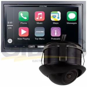 Alpine iLX-107 - iBeam Backup Cam Bundle