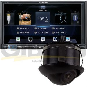 Alpine iLX207 - iBeam Backup Cam Bundle