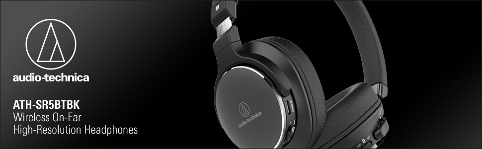 ATH-SR5BTBK Headphone Banner for Product Page