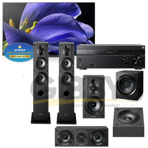 Sony 77 - STR-N1080-Speaker Bundle
