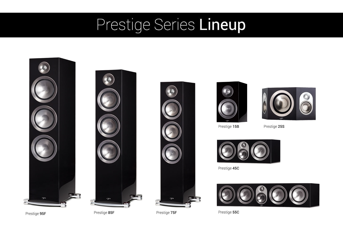 Paradigm Prestige Piano Black Lineup