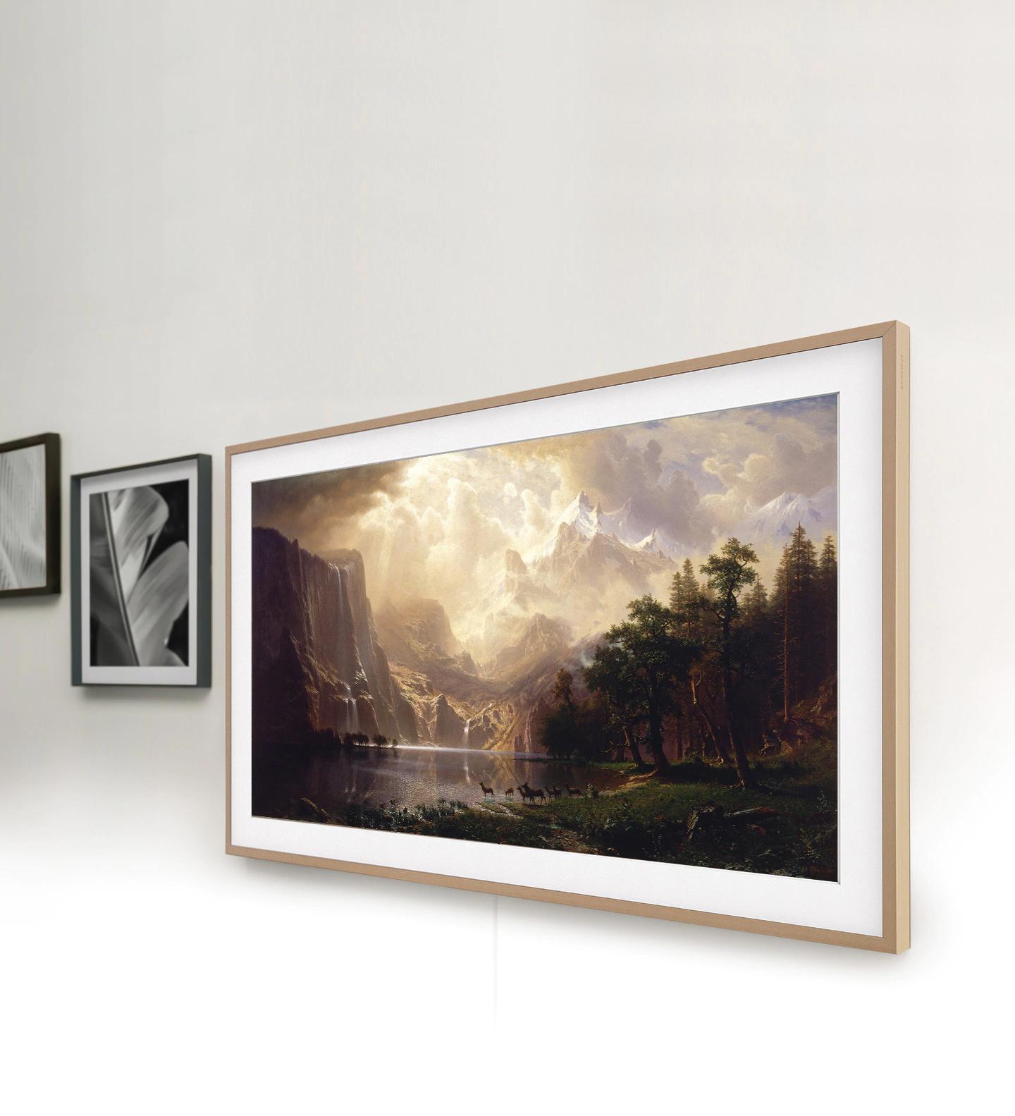 Samsung Frame Frame Look Design Desktop