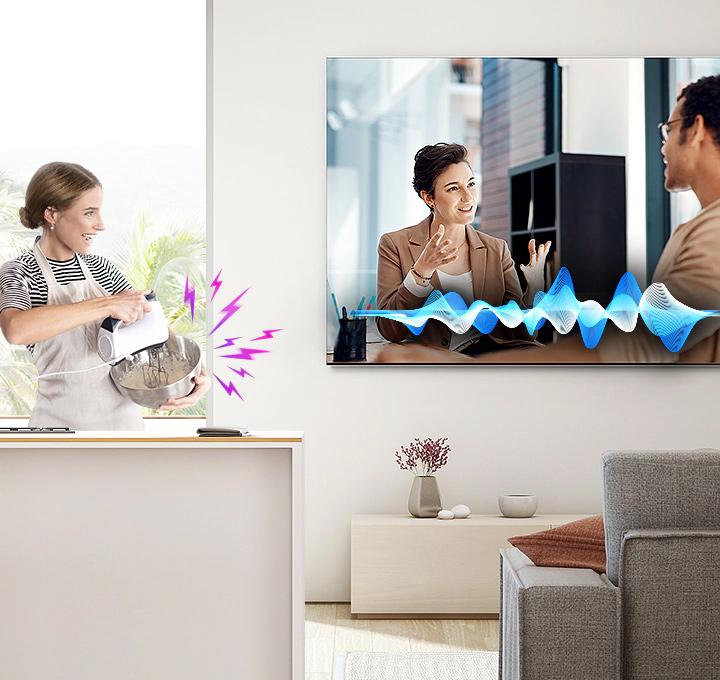 Samsung 8k -Active Voice Amplifier