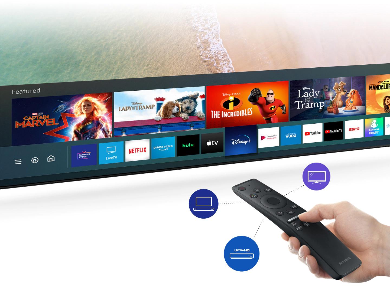 Samsung 8k - One remote for true control