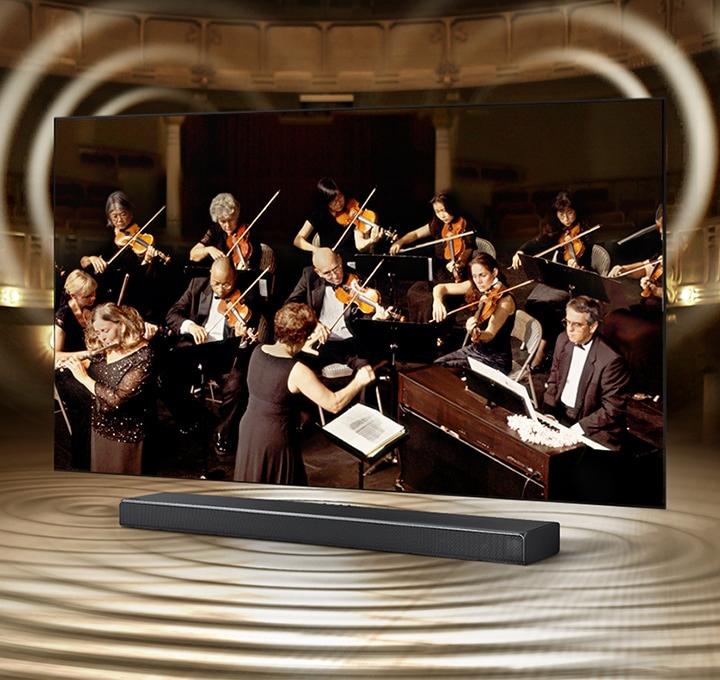 Samsung 8k - Samsung Q-Symphony