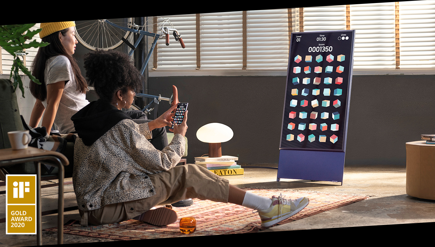 Samsung Sero Mobile Entertainment, better on TV