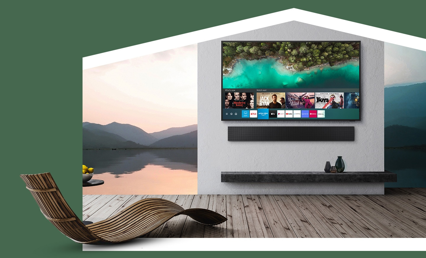 Samsung Terrace - More ways to enjoy TV