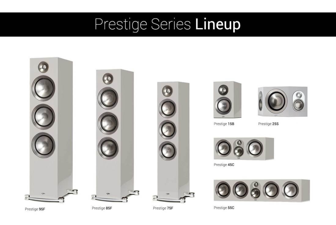Paradigm Prestige Gloss White Lineup