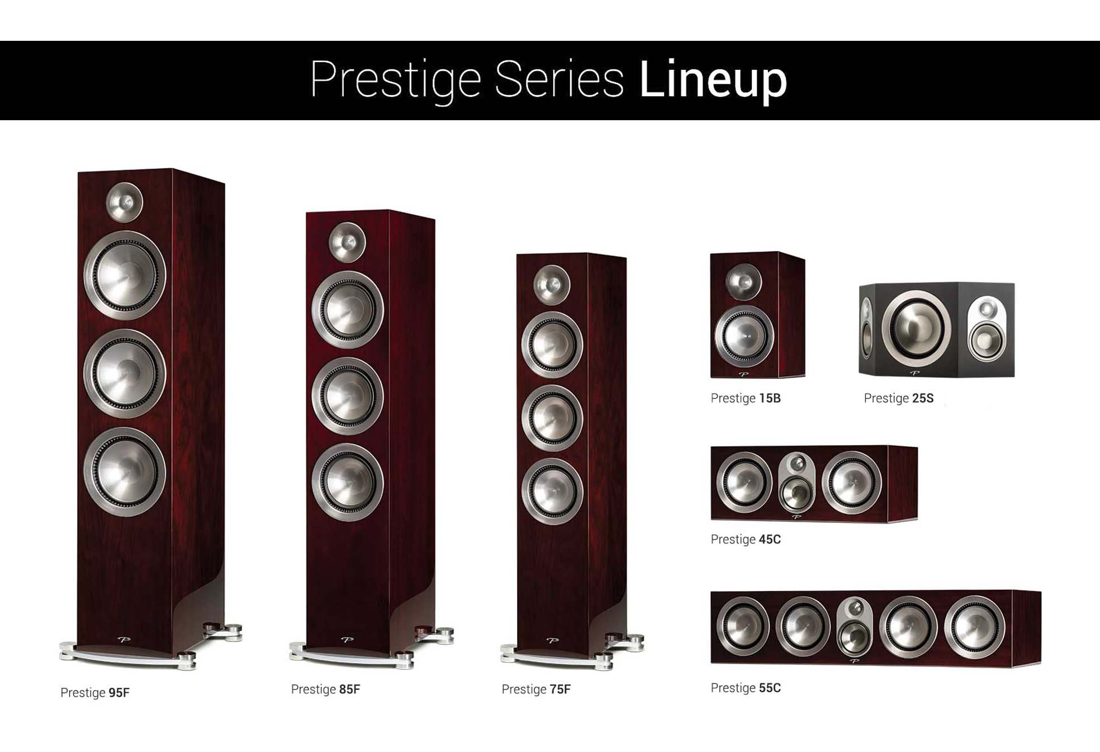 Paradigm Prestige Midnight Cherry Lineup