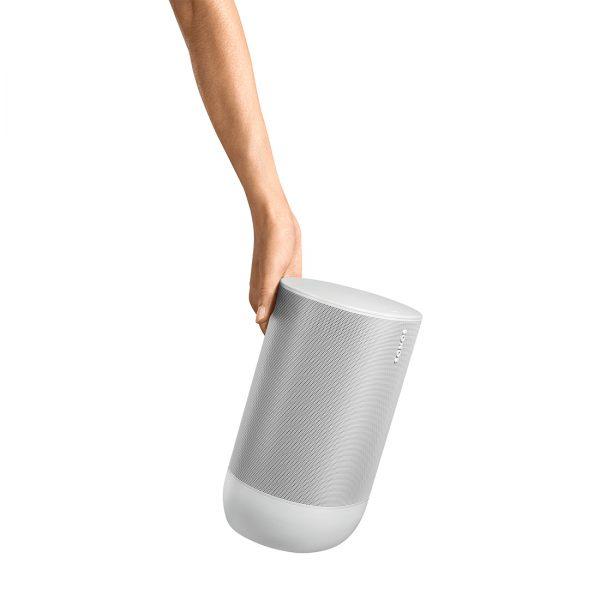 Move White Portable