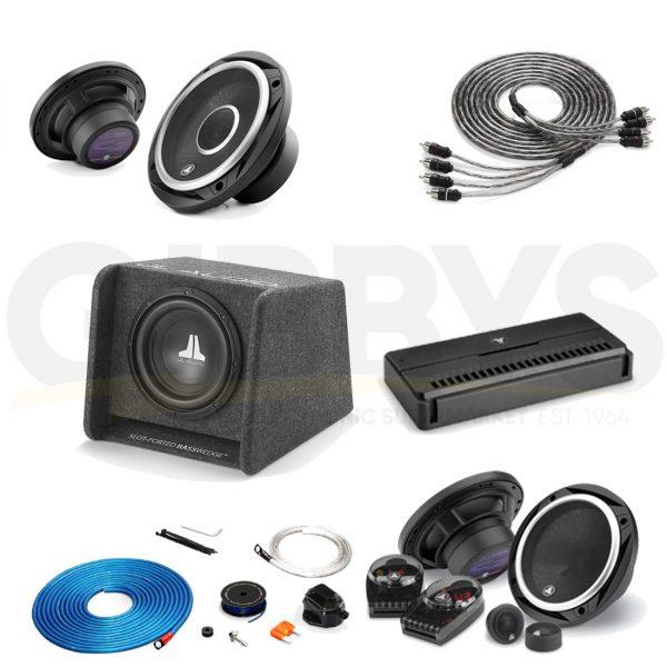 JL Audio C2-650X Bundle #2