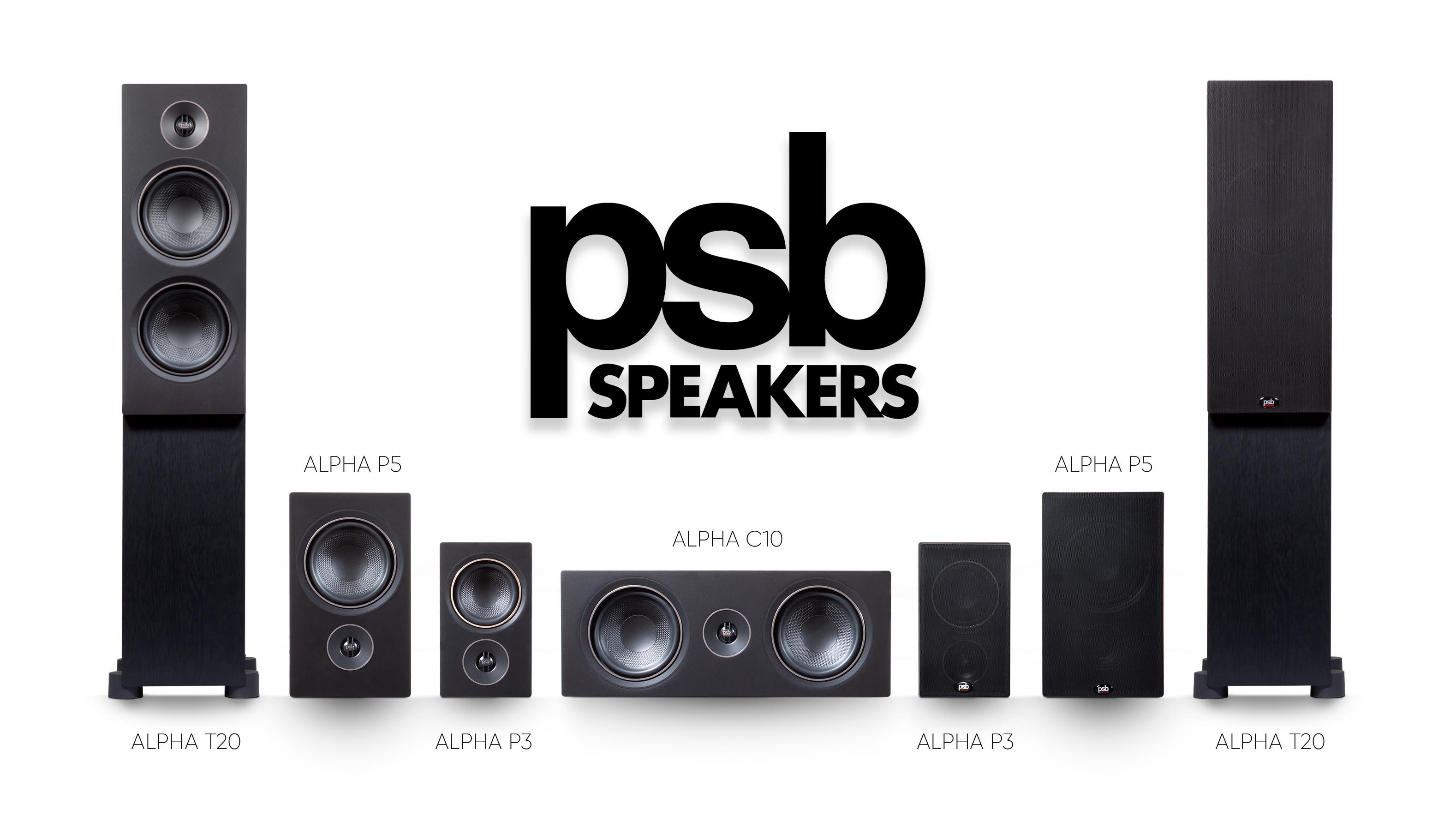 PSB Alpha Lineup Black Ash