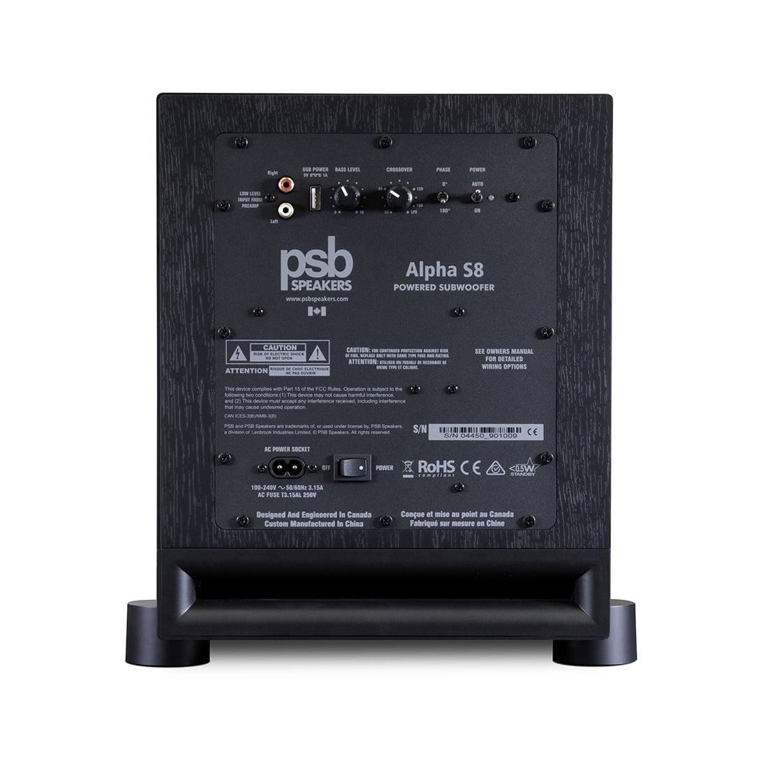 PSB Alpha S8