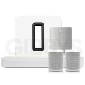 Sonos 5.1 Surround Set White