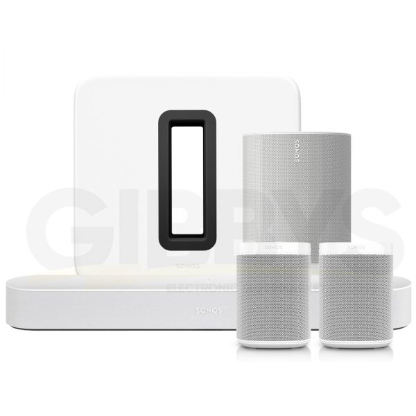 Sonos 5.1 Surround Set White