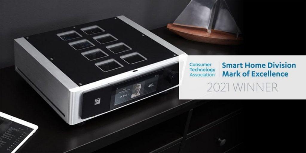 NAD M33 BluOS Streaming DAC Amplifier Award Image