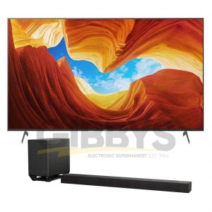 Sony XBR-77X900H 77 4K Ultra HD Full Array HDR LED TV Sony HT-ST5000 7.1.2 Dolby Atmos Soundbar Bundle