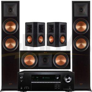 Onkyo TX-SR494 7.2-Channel Network AV Receiver Klipsch RP-6000FB Reference Premiere 5.0 Speaker Bundle 13