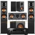 Pioneer VSX-834 7.2-Ch AV Receiver Klipsch R-620FB Reference 5.1 Speaker Bundle #1