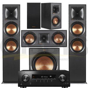 Pioneer VSX-834 7.2-Ch AV Receiver Klipsch R-820FB Reference 5.1 Speaker Bundle #1 – Bundle