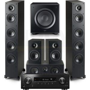 VSX-834 Paradigm Monitor SE 6000F 5.1 Speaker Bundle #3