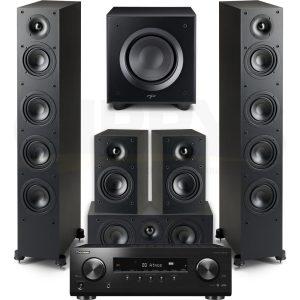 VSX834 Paradigm MONITOR SE 6000F 5.1 Speaker Bundle #1