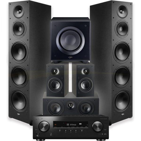 VSX834 Paradigm MONITOR SE 8000F 5.1 Speaker Bundle #1