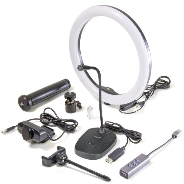 safari video conference kit with/1080p webcam